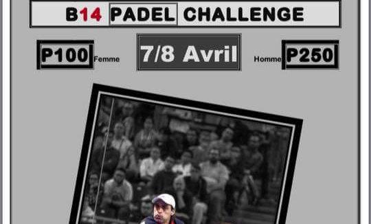 L'Open B14 Challenge con il francese n ° 5