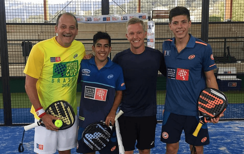 Pastor, Johanson, Tello and Chingotto at Tennis Padel Soleil