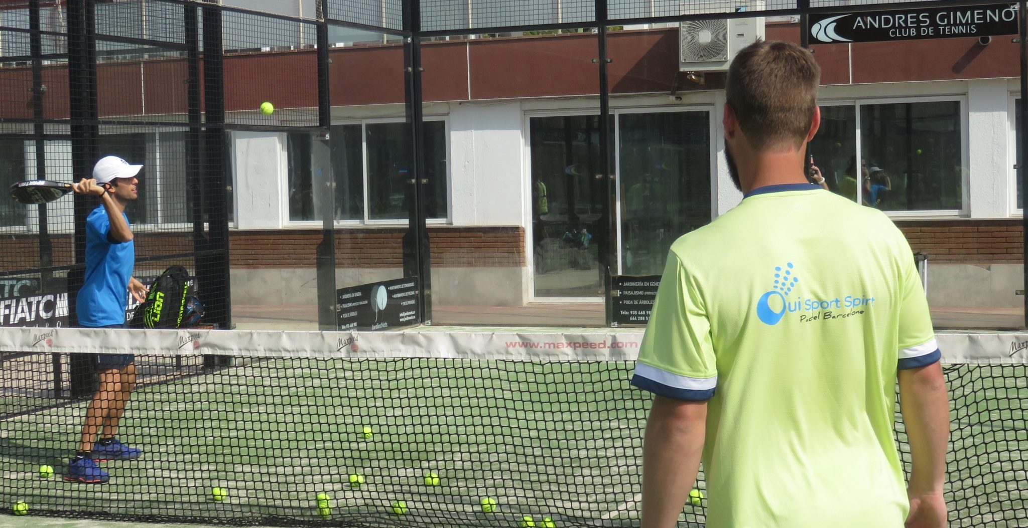 Stage de padel traditionnel – OuiSportspirit Barcelone