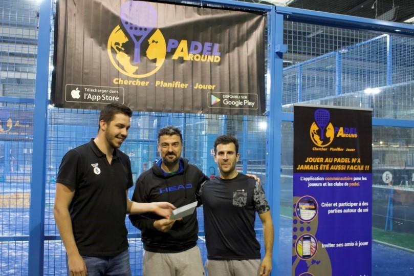 Loubic / Halle remporte l'Open Padel Around au Soccer Park Bordeaux