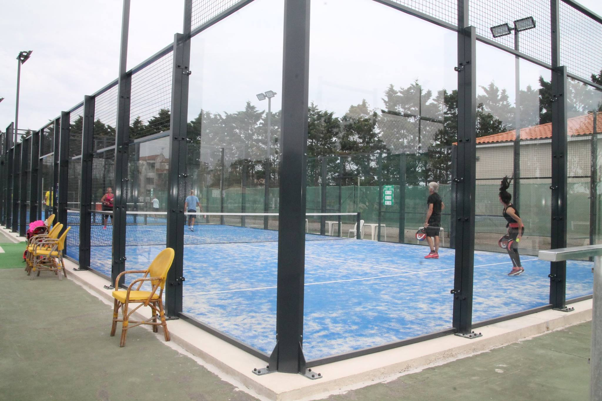 Le Tennis Club de Valras se lance dans le padel