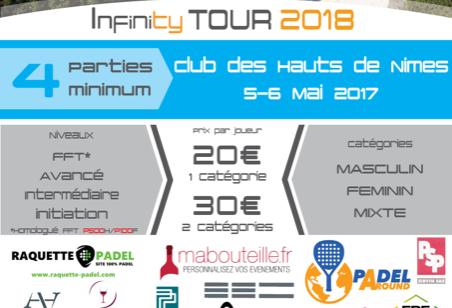 Padel Infinity s'arrête à WinWin Padel Nîmes