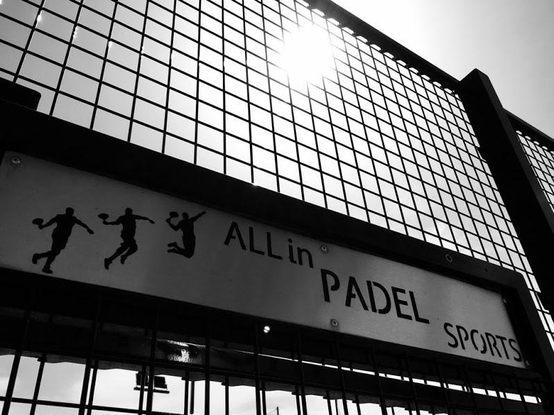 オールイン Padel スポーツはそのショーを行います
