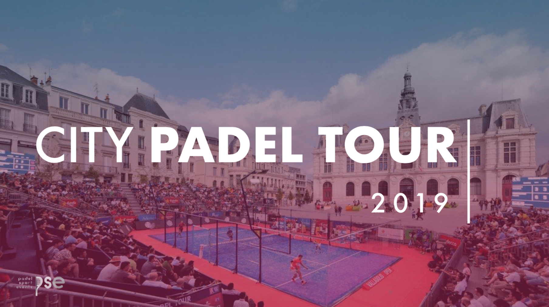 """Baptiste Poey : """"La tournée padel avec City Padel Tour"""""""