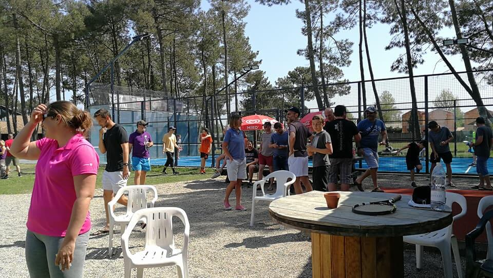 Tennis Club de La Teste : Inauguration de 2 terrains de padel