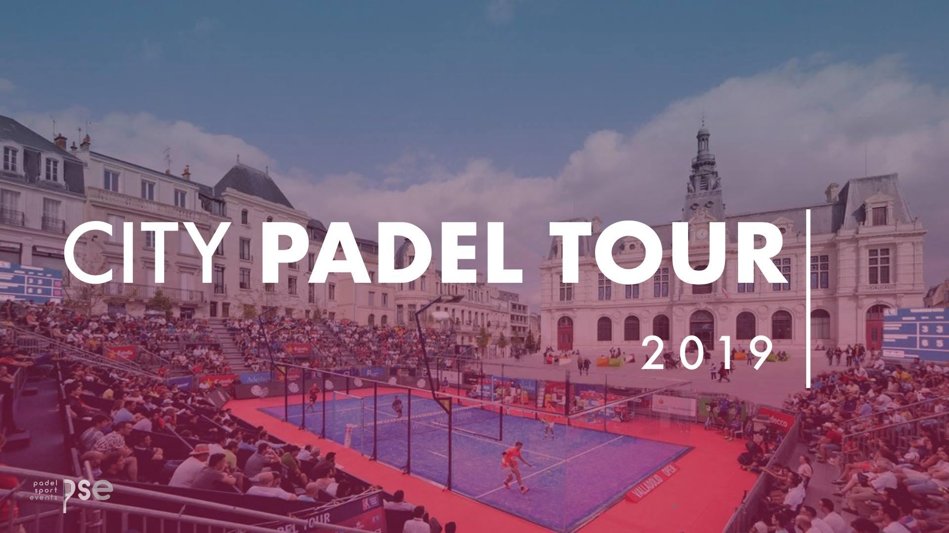 CITY PADEL TOUR 2019 à la recherche de partenaires pour le grand SHOW