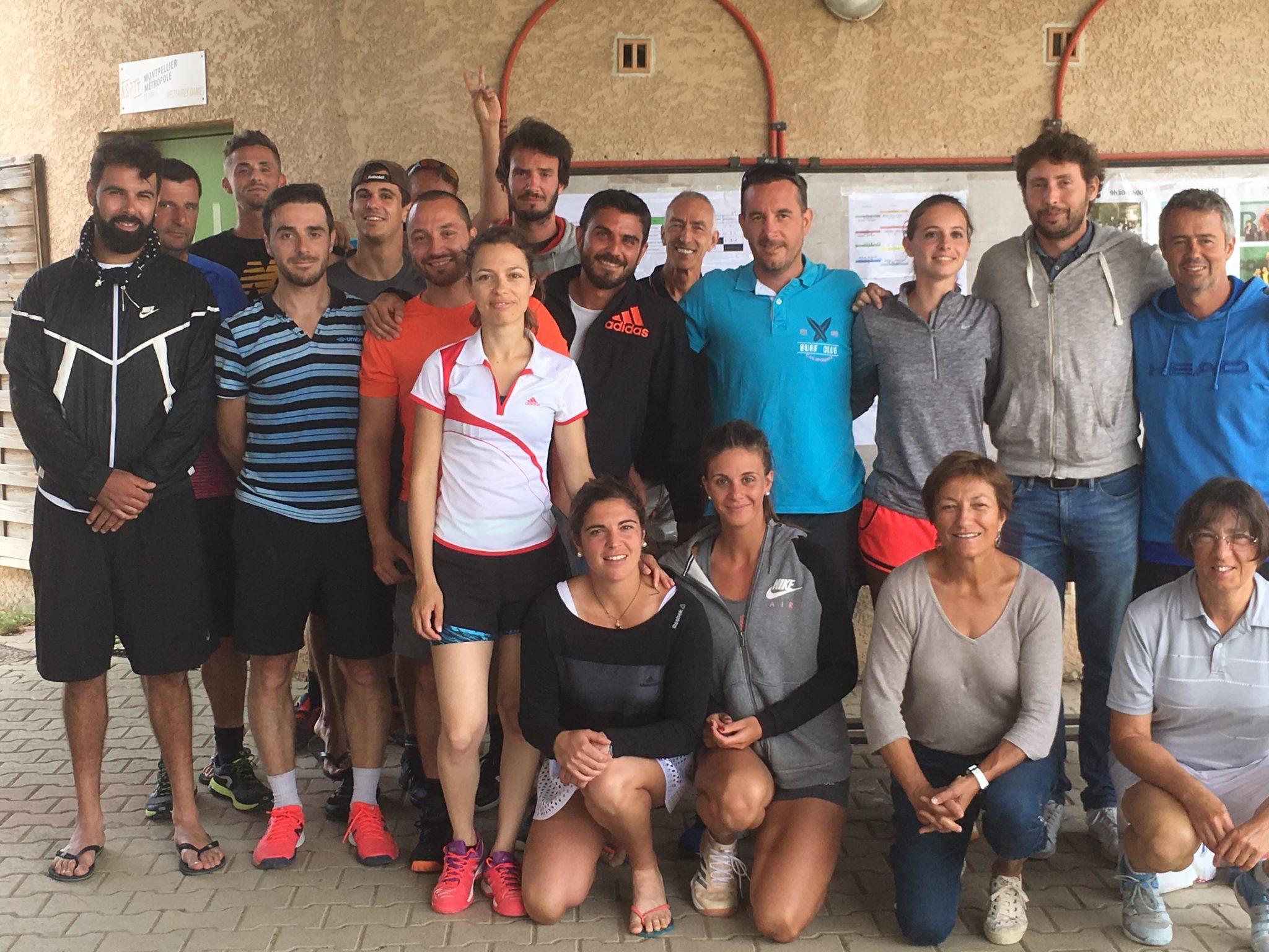 Radovanovic/Serin et Sidbon/Fortea à l'ASPTT Montpellier