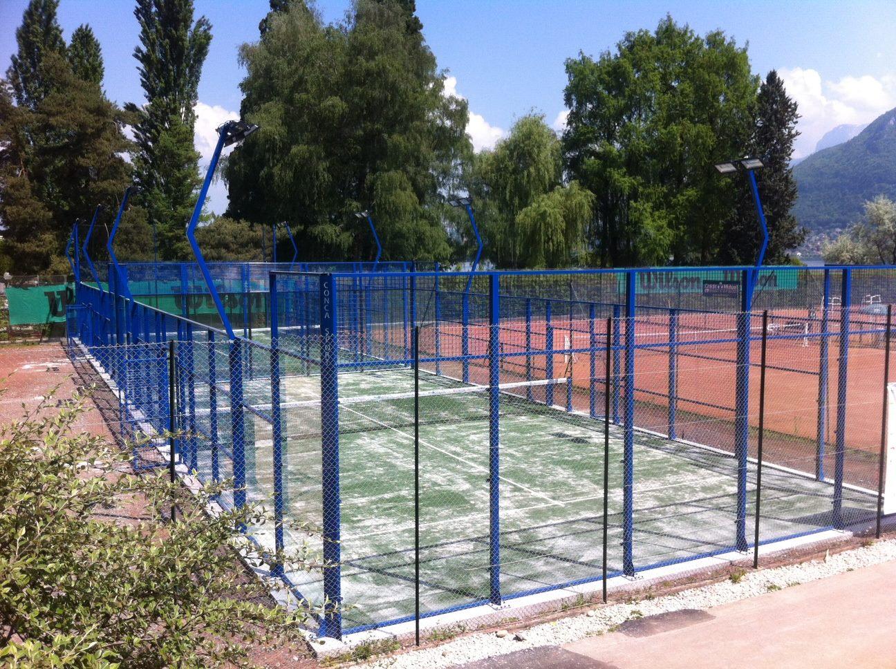 Tennis Padel Annecy avec 2 terrains