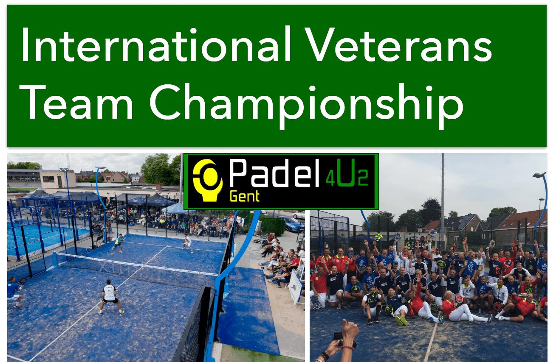 Venlig turnering for veteraner i Belgien