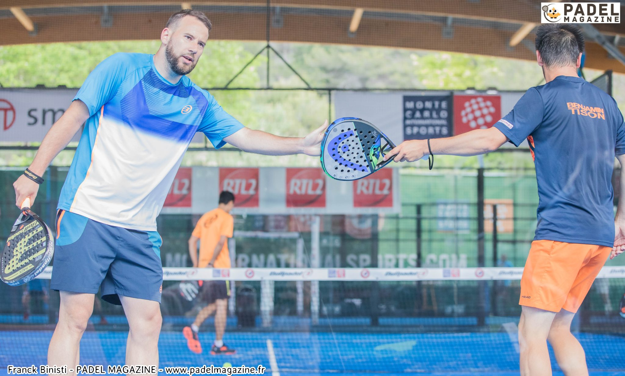 Les plus beaux points de padel au My Padel Tour Monaco 2018