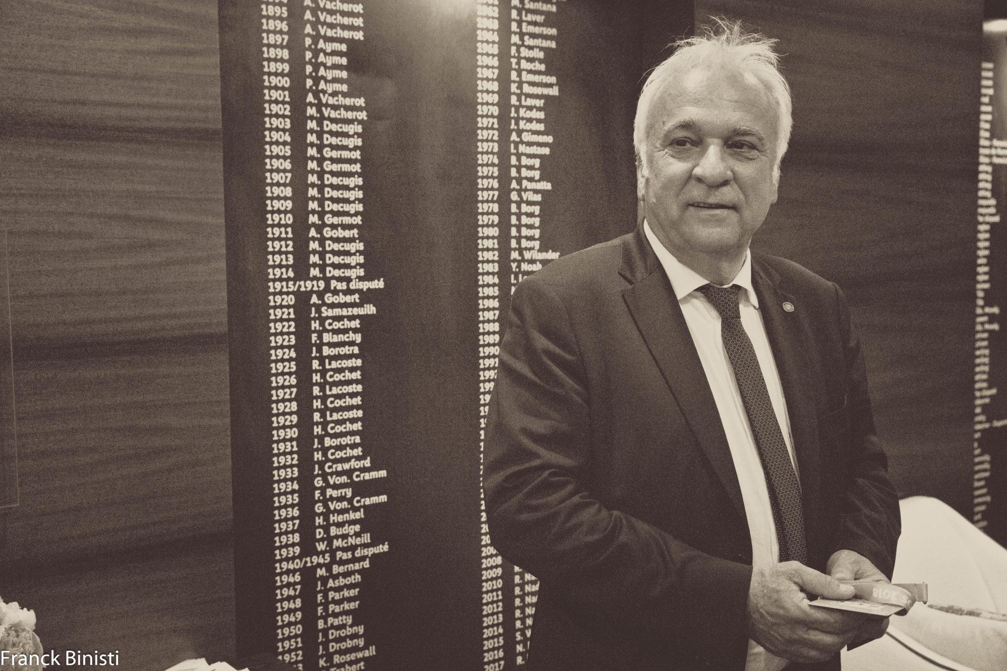 """Hubert Picquier : """"Un diplôme padel dès septembre prochain"""""""