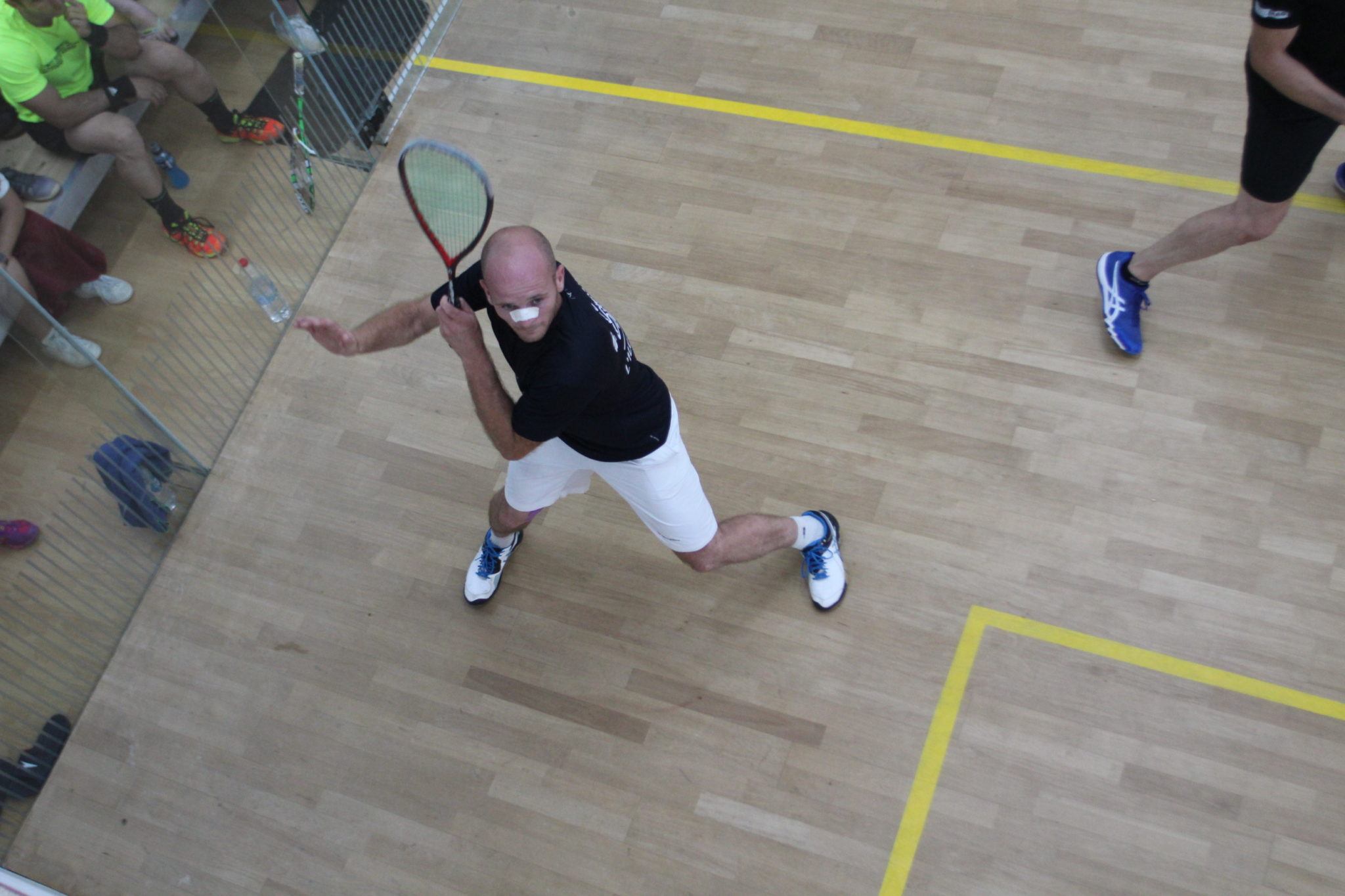 1/2 – Lavigne Vs Petrucci – Open de l'île Rousse 2018 – Squash Open