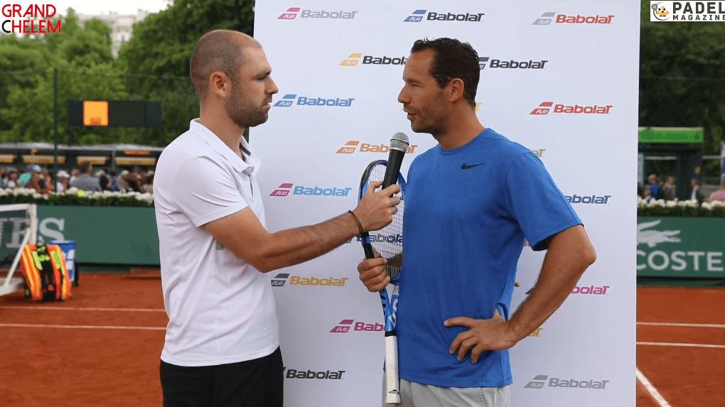 Michaël Llodra : Le tournoi des Légendes et le padel – Roland GARROS – BABOLAT 2018