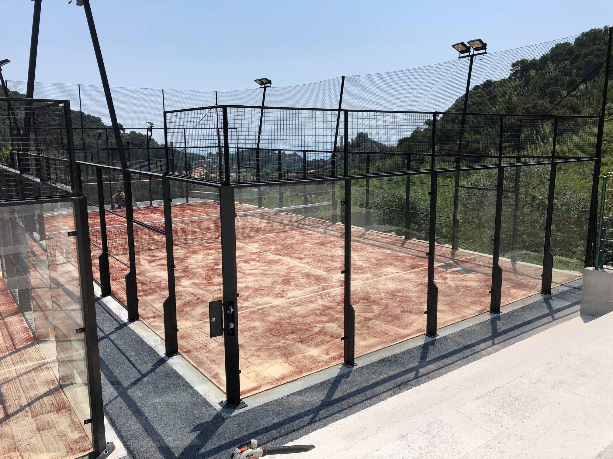 Le Padel Club Eze buduje 3 boiska padel w +
