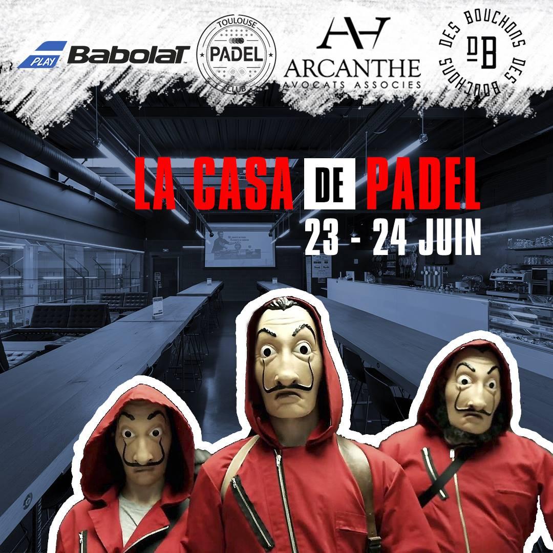La CASA DE PADEL : C'est CHAUD !