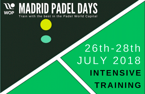 Madrid Padel Days : Stage de Padel à Madrid du 26 au 28 juillet