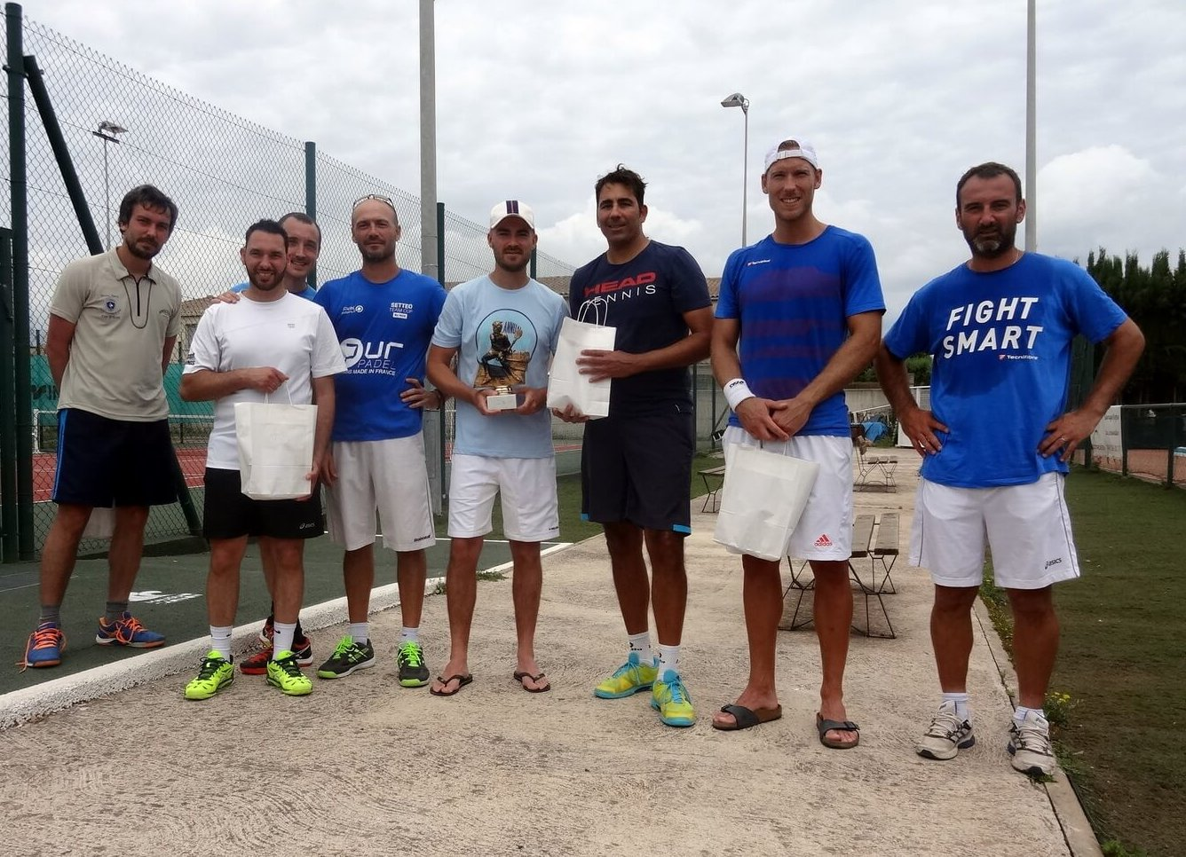 DADOIT / LAUGHLIN remporte l'Open  Raquette Melgorienne