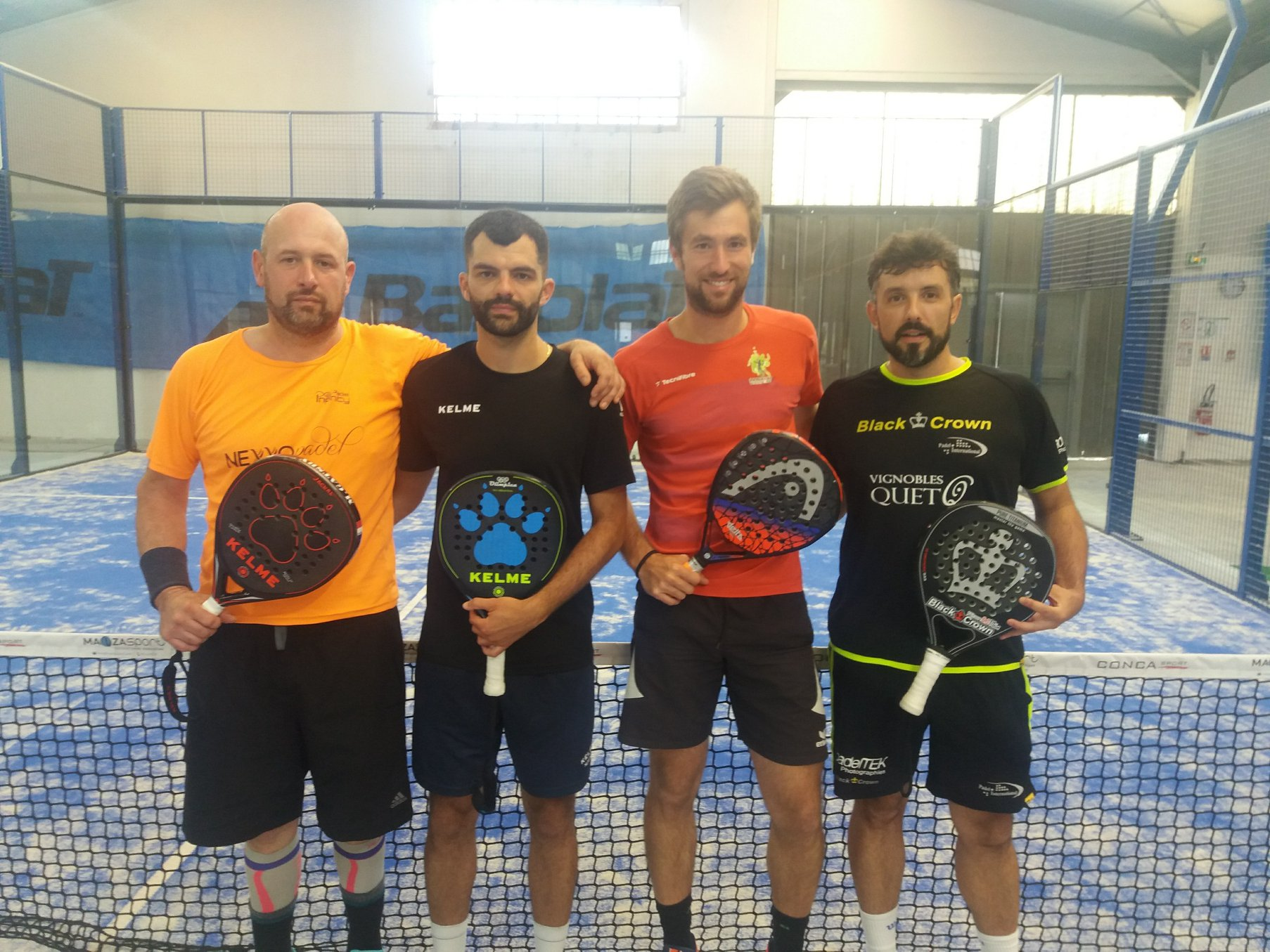 VERGELY / TECLES vinder Toulouse-kvalifikationerne - National Padel Kop