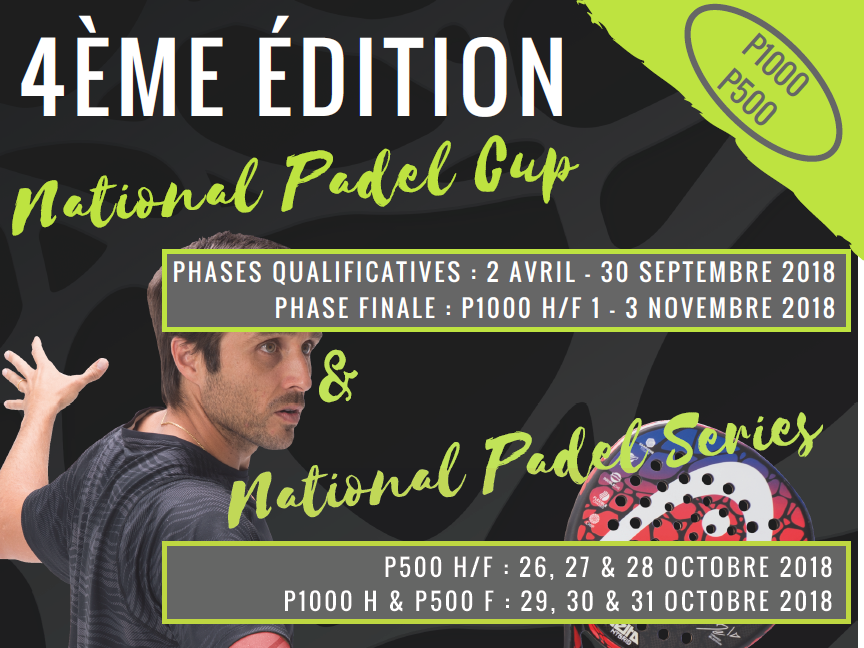 P1000 Mænd - Le Five Bordeaux - National Padel Kop
