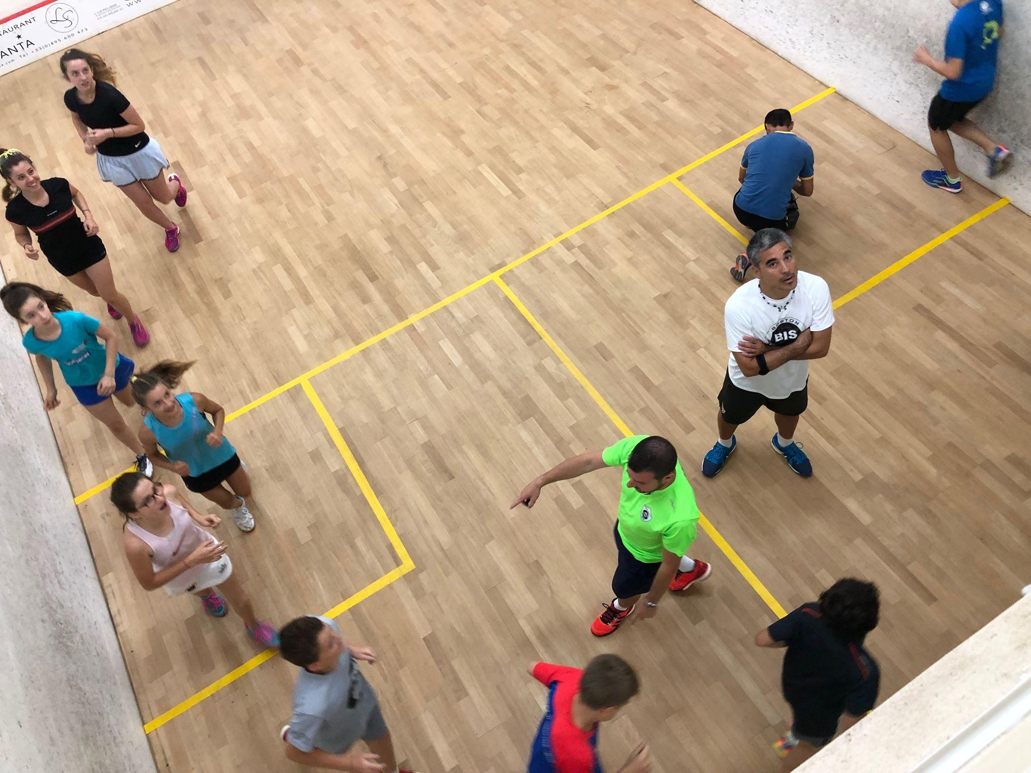 Corso di Squash Ile Rousse 2018