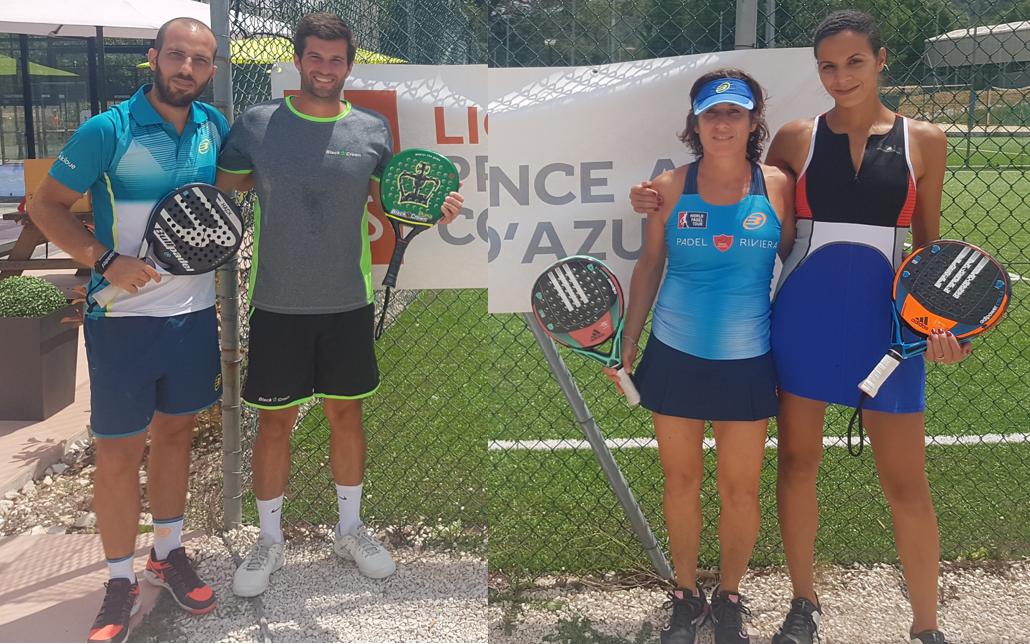 ソレル/マーティンとリッツ/フェランデス-PACAチャンピオン
