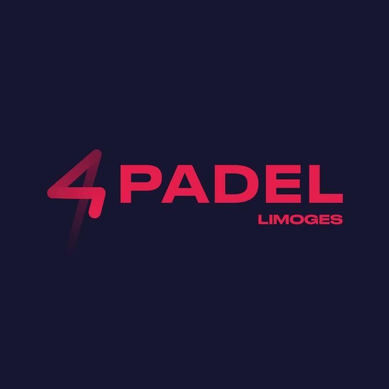 4PADEL LIMOGESロゴ