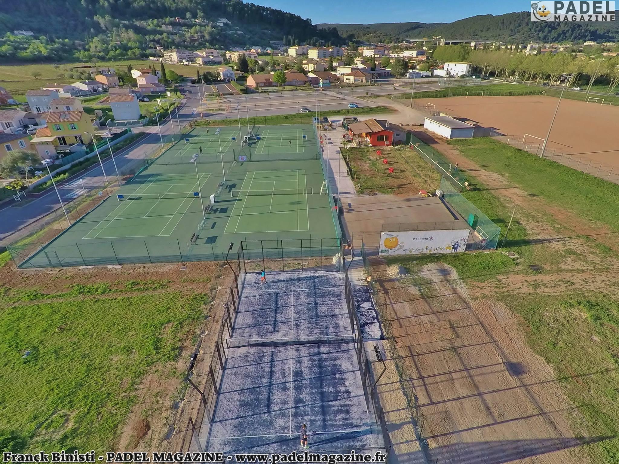 Le développement du padel dans les clubs de tennis
