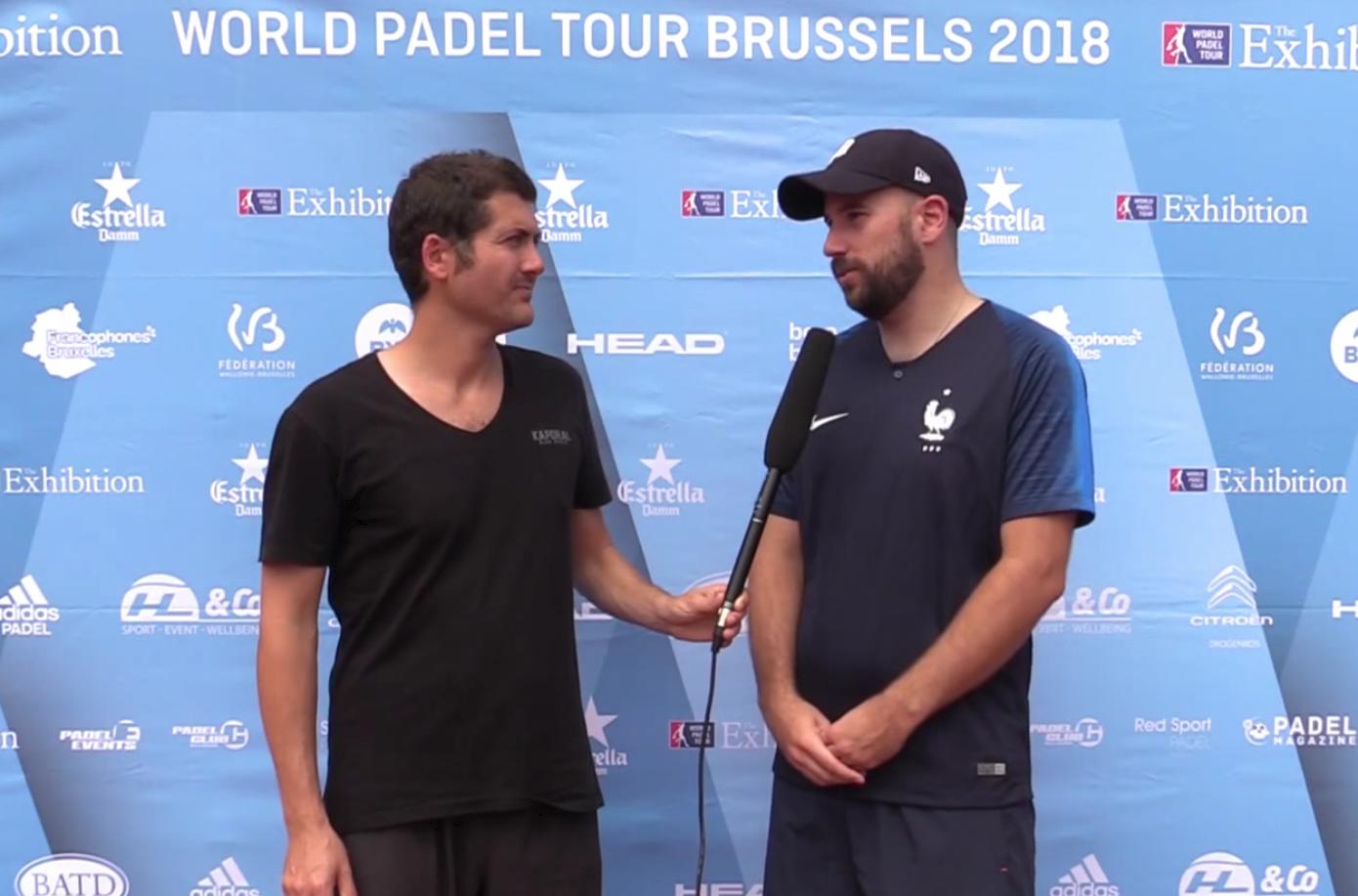 """Adrien Maigret: """"Il mio primo World Padel Tour in Svezia con Robin Haziza """""""