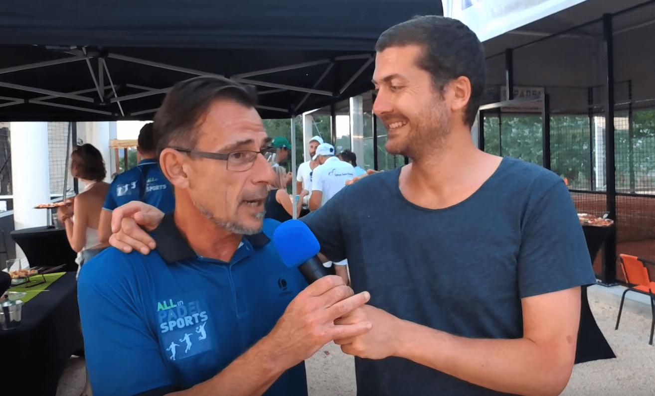 Stéphane Massot : «All In Padel Sports va encore évoluer !»