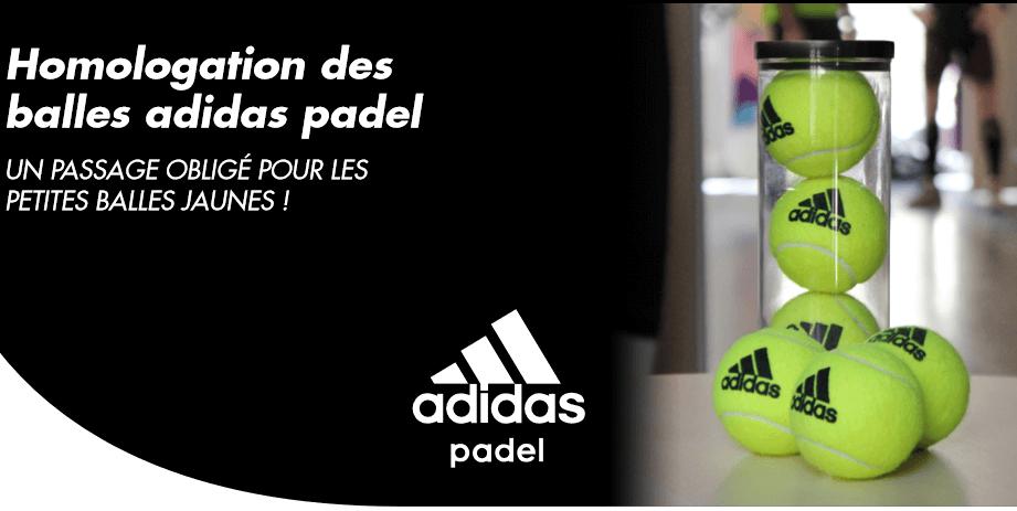 egipcio velocidad colgante  Aprovação de bolas Adidas padel | Padel Magazine