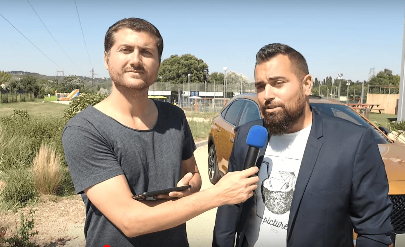 Cyril Truffert:「DSAutomobile Avicars Aix、ALLINのパートナー PADEL スポーツ」