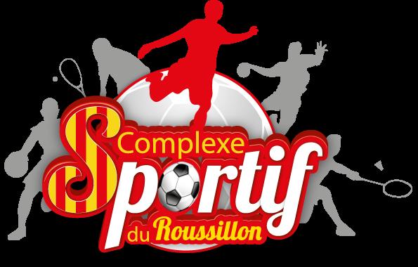 Kompleks-du-logo sportowego Roussillon
