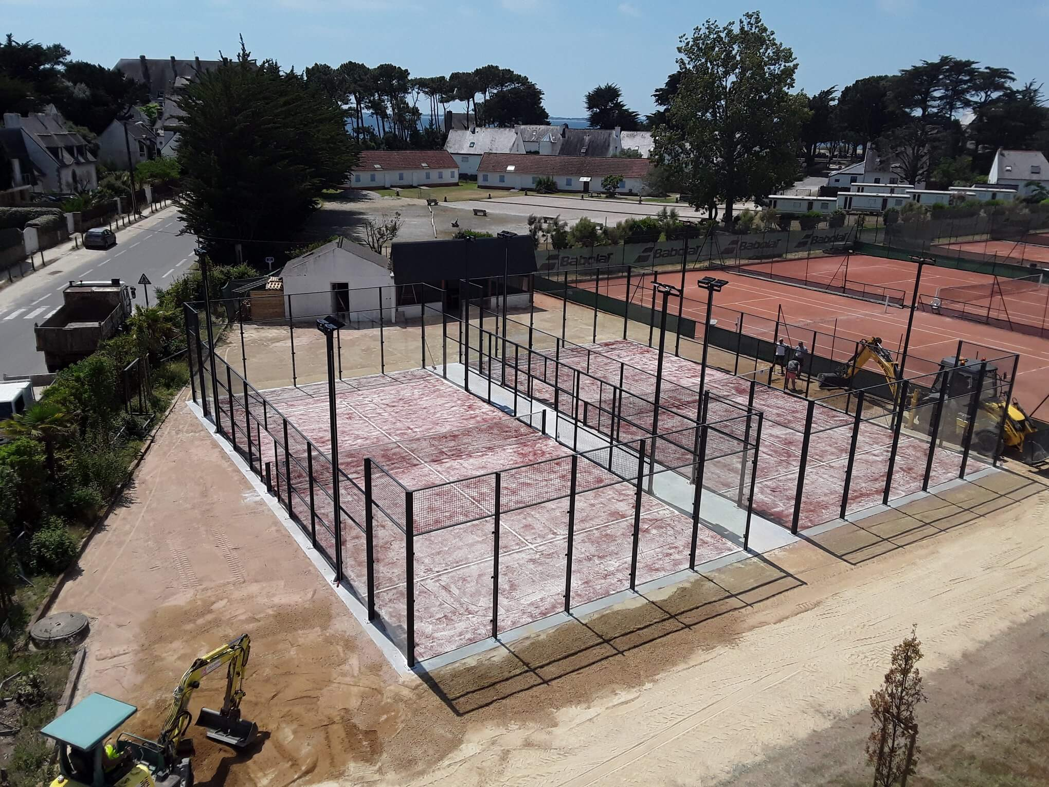padel Tennis club Carnac Beaumer