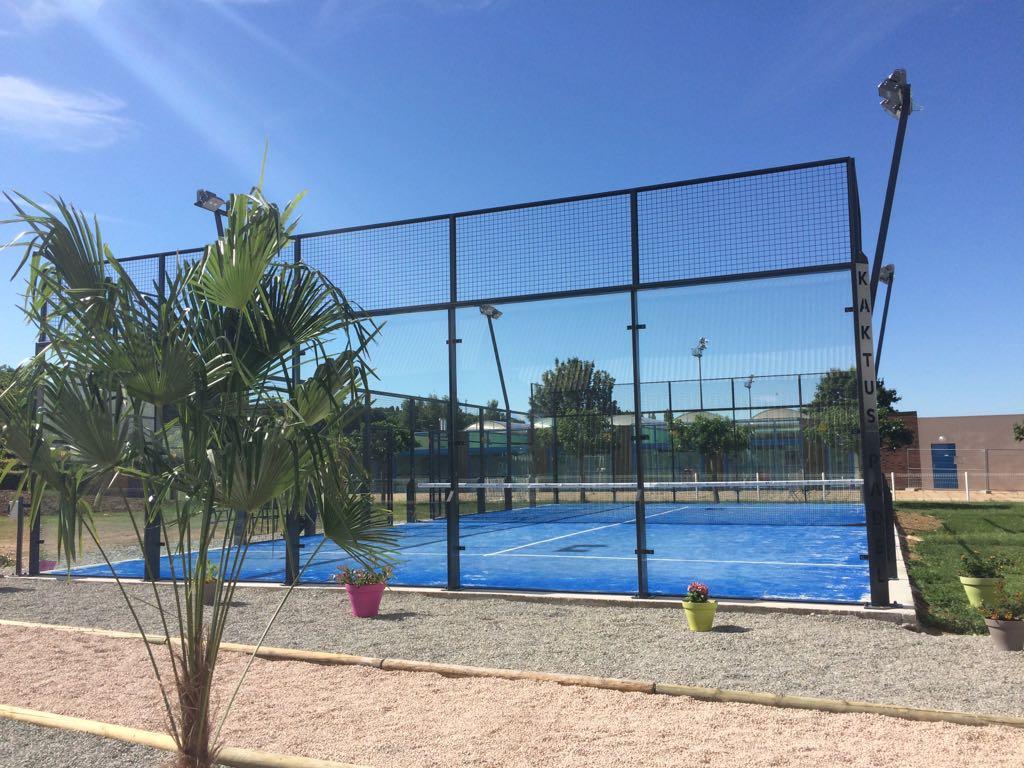 テニスクラブ -  gannat、パドル