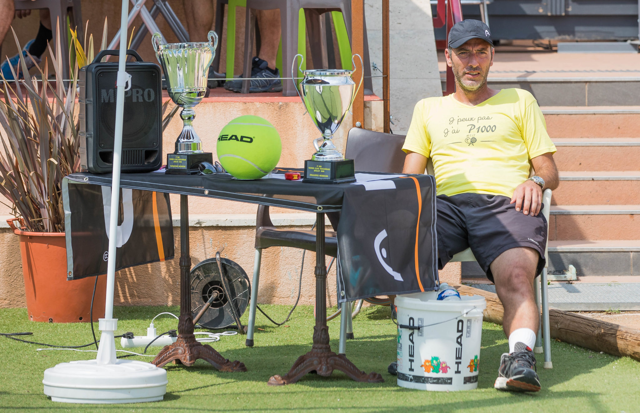 The Toulon Open under strong heat