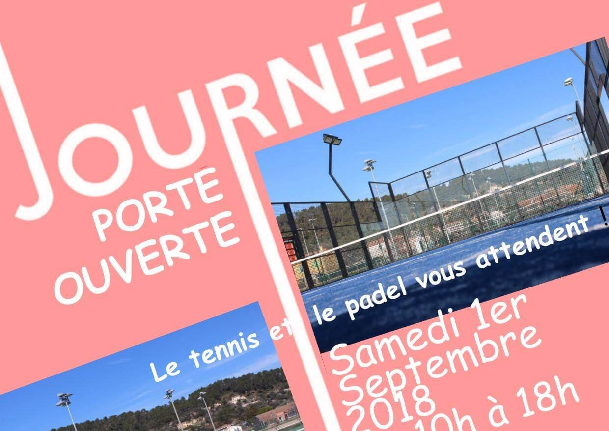 Open day at Tennis Padel Luçois