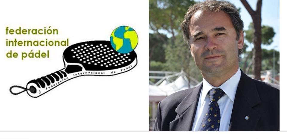 Avgång från presidenten för International Federation of Padel : Daniel Patti
