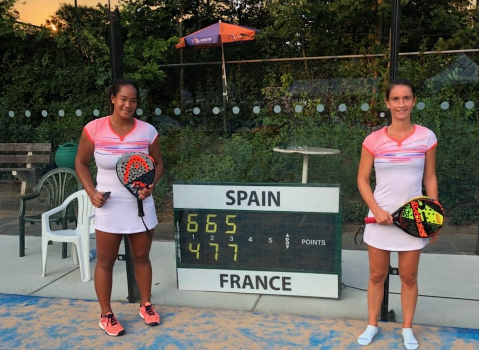La France bat l'Espagne à la Padel Nations Cup