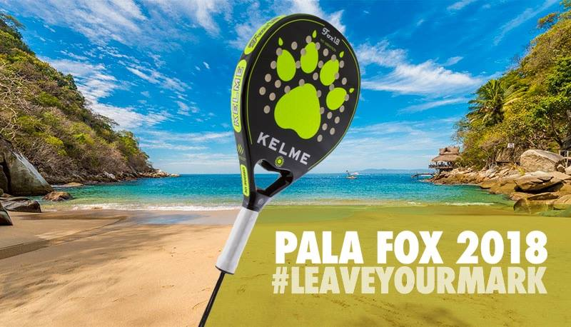 La nouvelle FOX 2018 by Kelme Padel