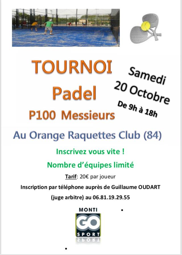 First tournament for Orange Racket Club