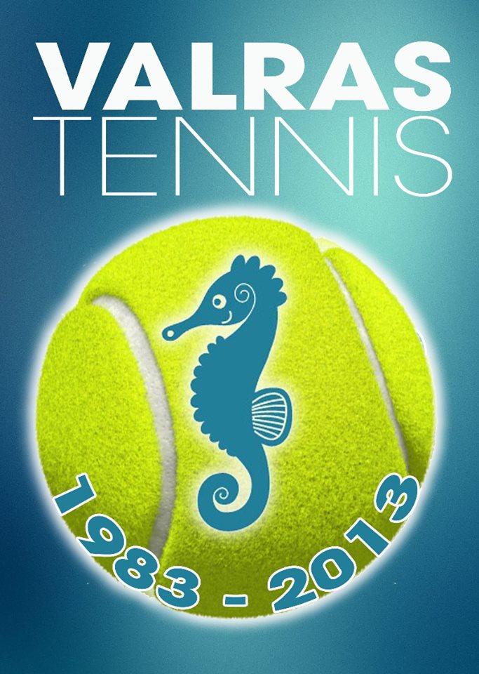 Logo padla tenisowego Valras