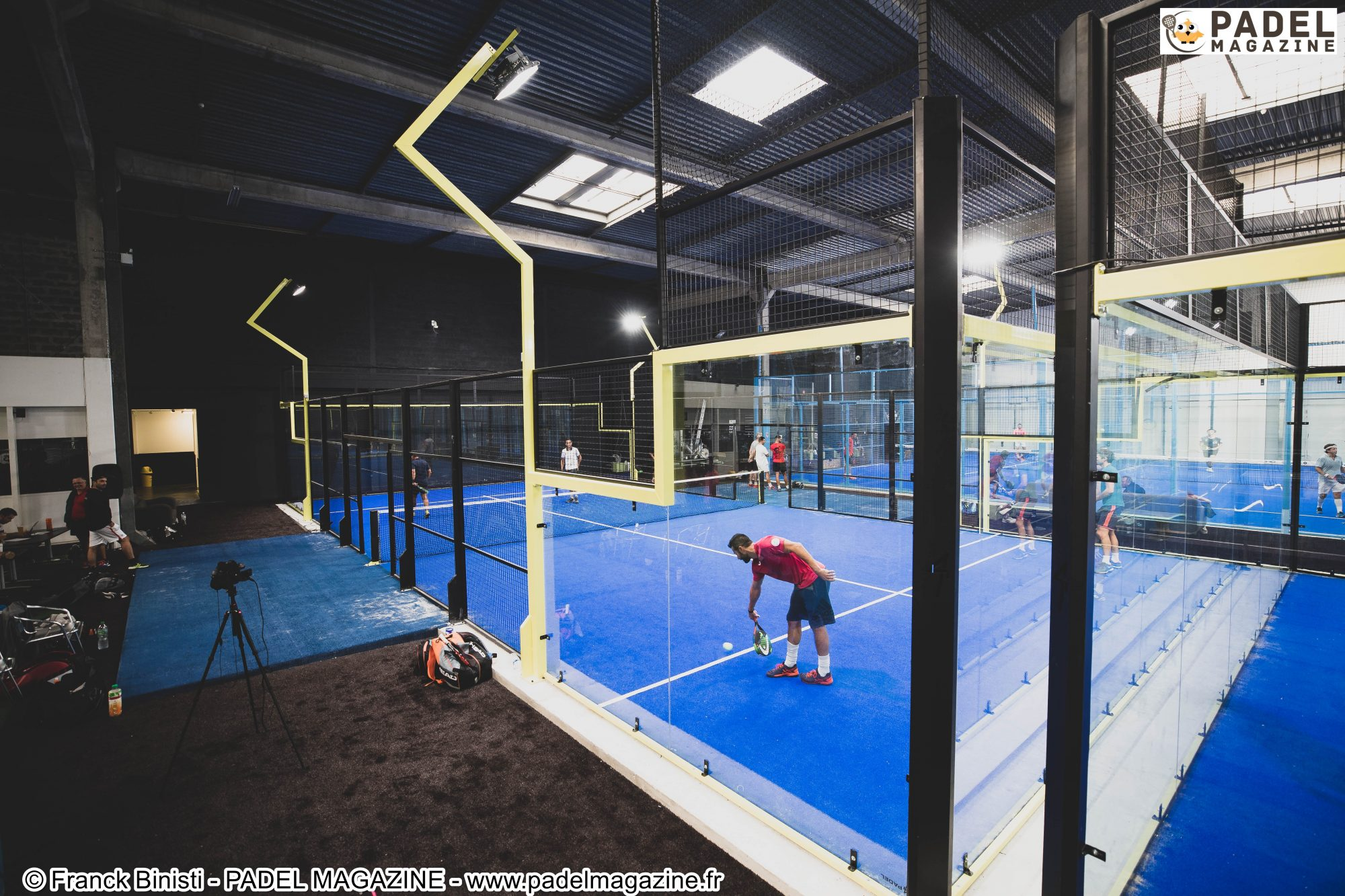 Grosse journée au 4PADEL Bordeaux – National Padel Cup