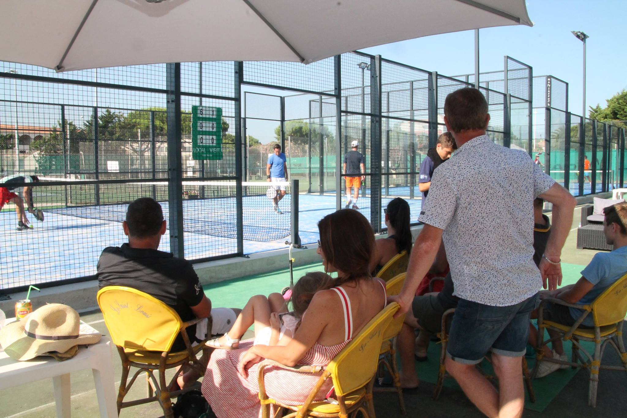 club house valras padel tennis