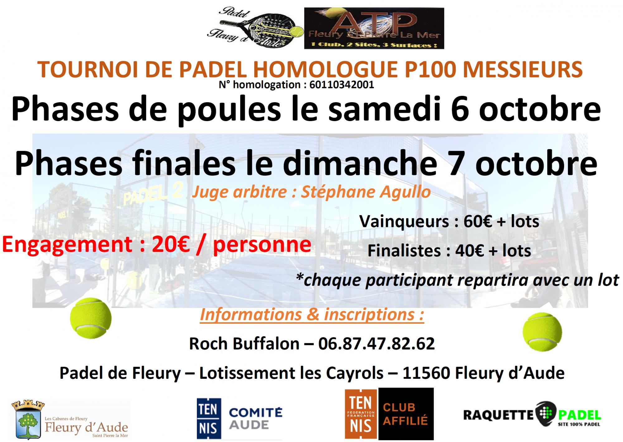 Torneo padel à Padel di Fleury