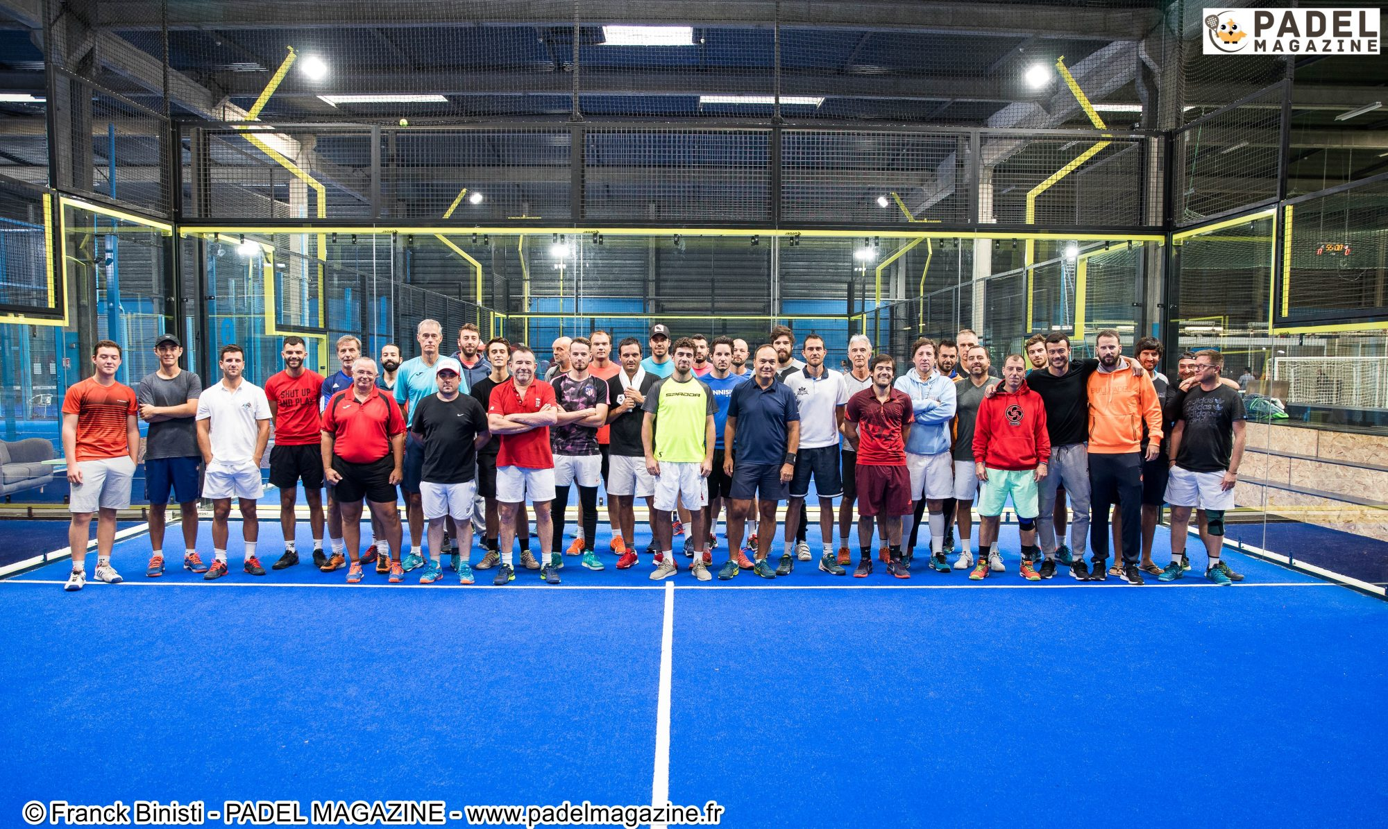 Top départ de l'Open 4PADEL – National Padel Cup