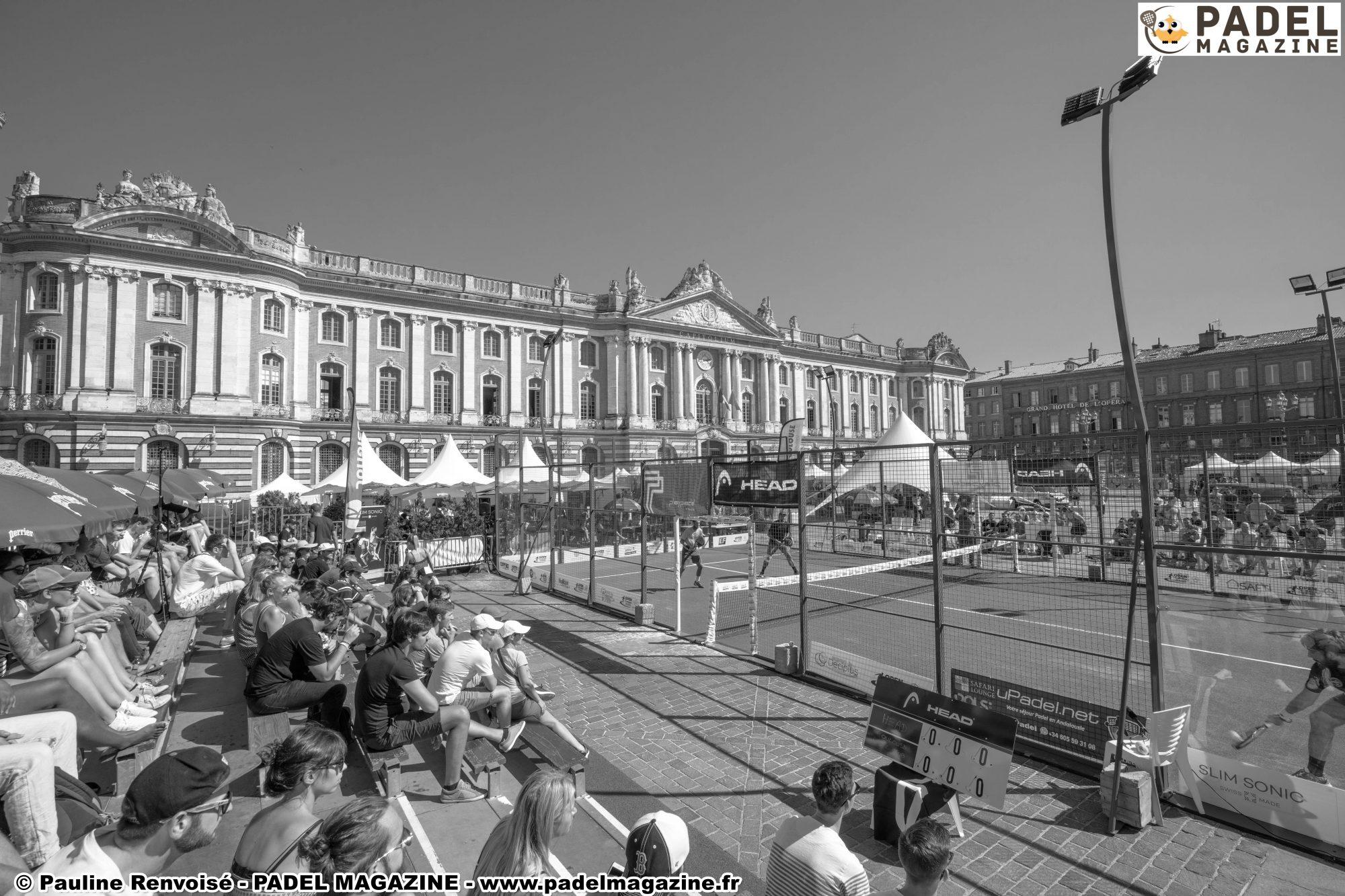 FFT Padel ツアーと「Roland-Garrosdu padel