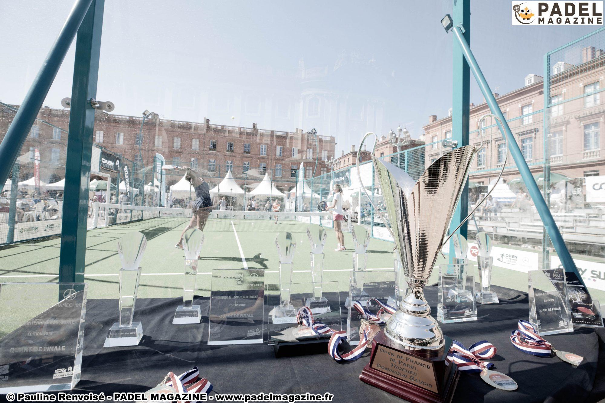 Objectif l'Open de France de padel 2019