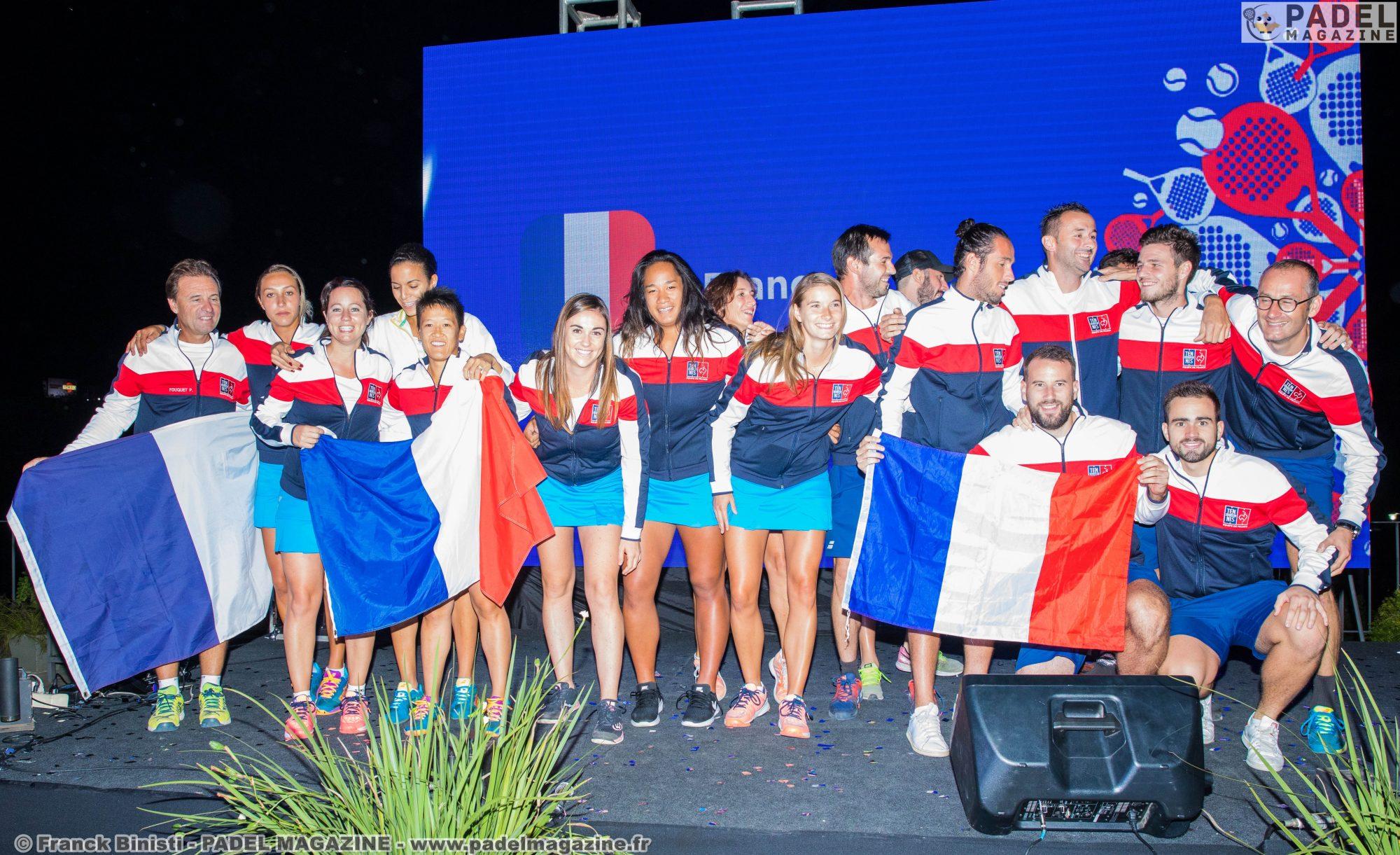 La France à 1 confrontation de la qualif au mondial de padel