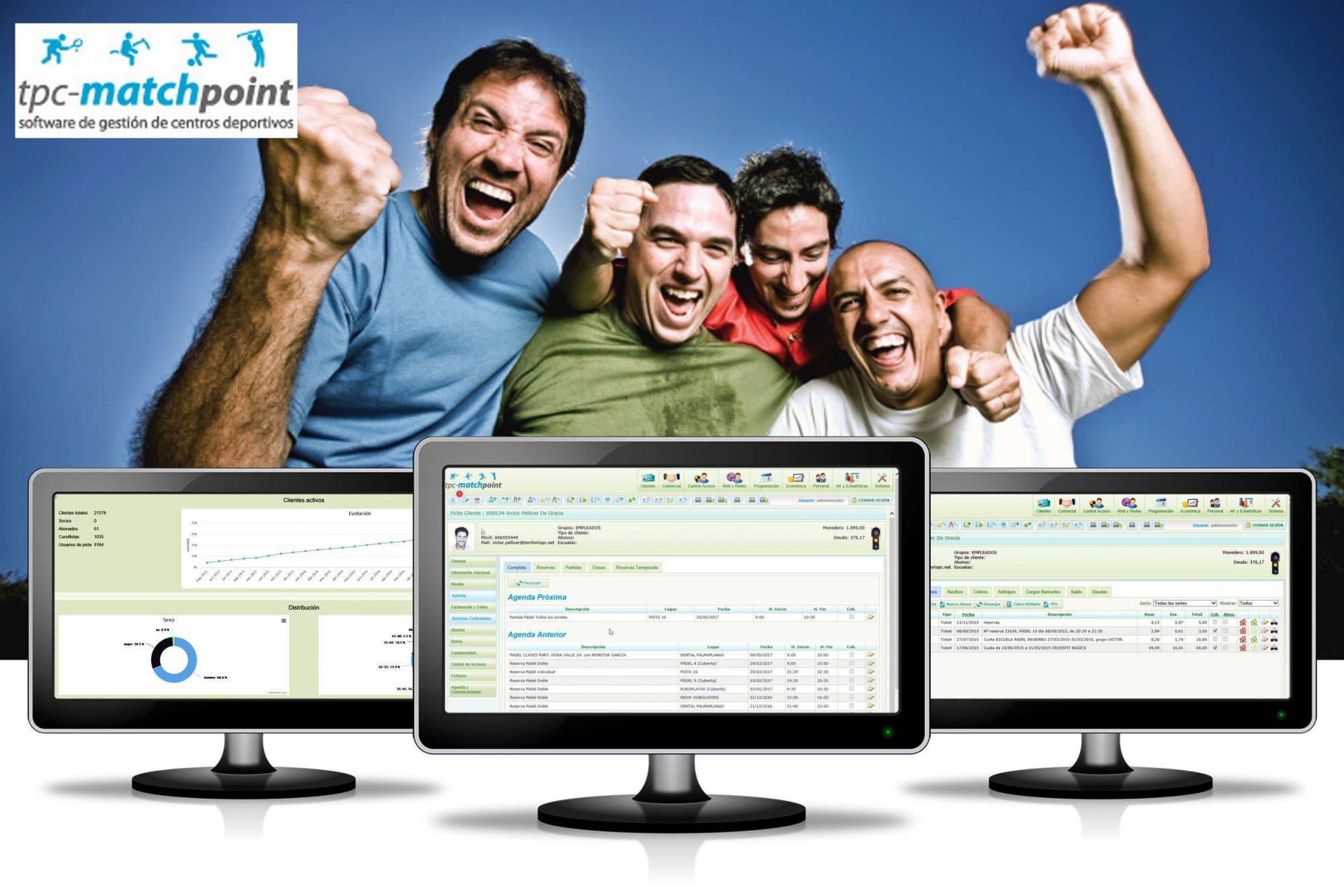 TPC Match Point : un logiciel complet pour les clubs de padel, mais pas que !