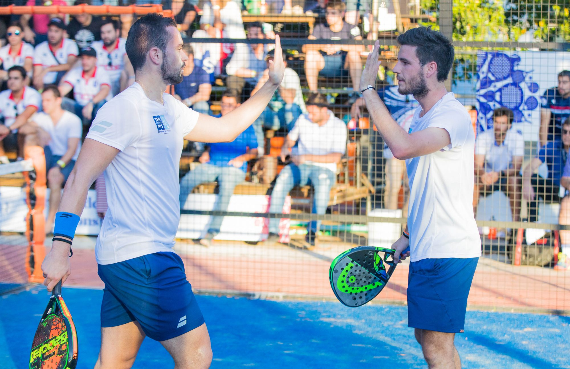 "Bastien Blanqué: ""It was two great years of padel with Jo """